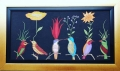 Birds in love with nature 40 x70 CMS Oil/canvas